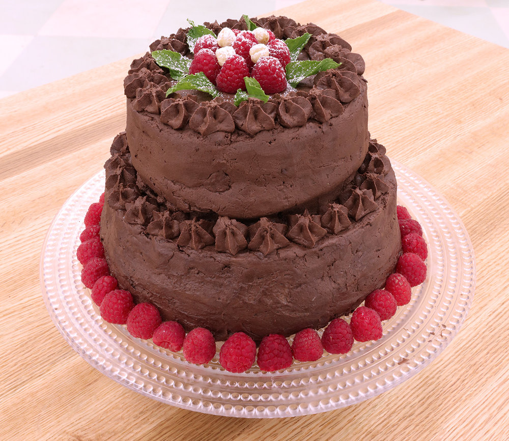 Chocolate Hazelnut Cake -