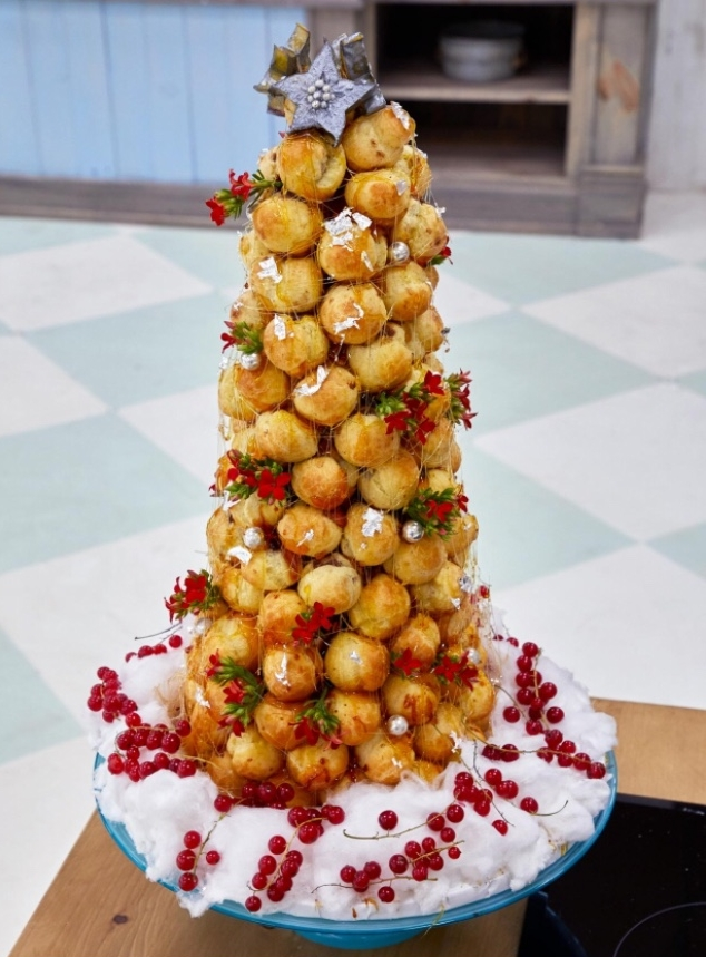 Chocolate Mint and Orange Croquembouche