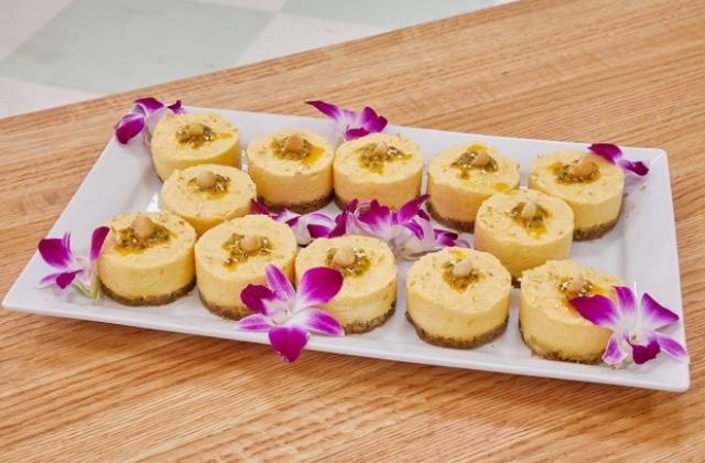 Passionfruit Mousse Cakes