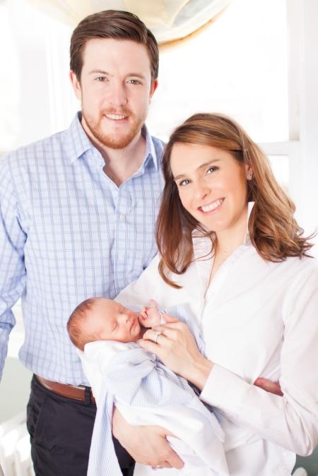 mom dad baby st. louis newborn