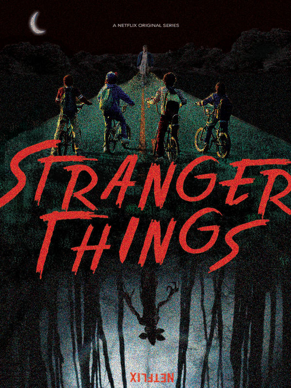 stranger things series poster annie trimarco