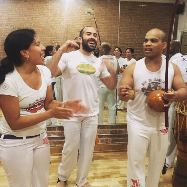 Capoeira Singing Jam session.JPG