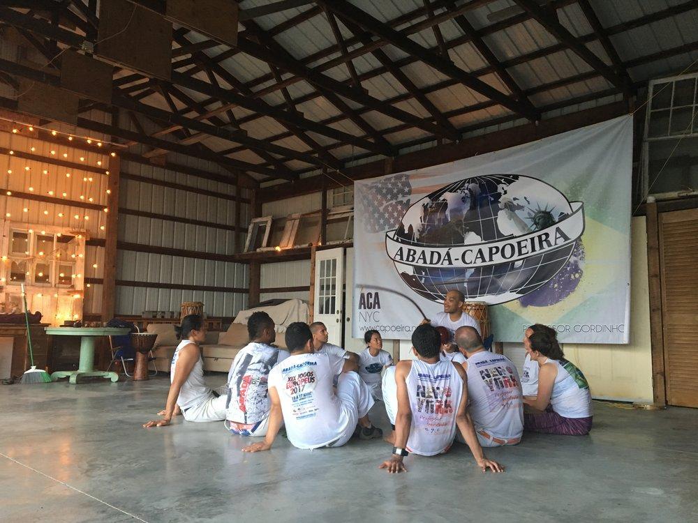 Capoeira NYC Meeting in Catskills.JPG
