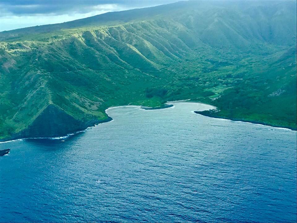 Halawa Valley Ocean -Greens.JPG