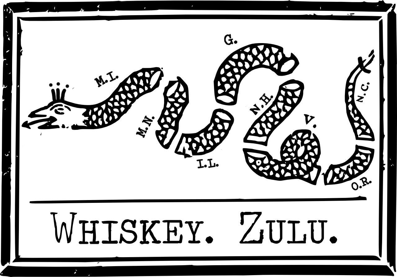 Whiskey. Zulu.