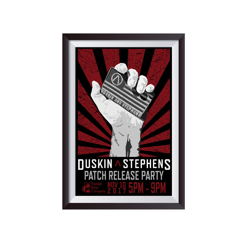 PATCH PROPAGANDA   c. 2018  Client: Duskin & Stephens Foundation