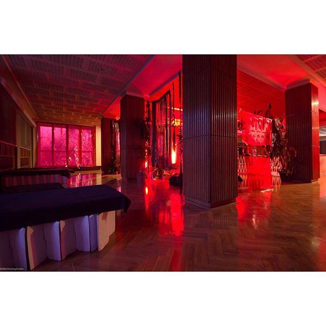 🚀 #kepler452b • • • • • • •• #events #berlin #techo #art #artist #installation #red #festival