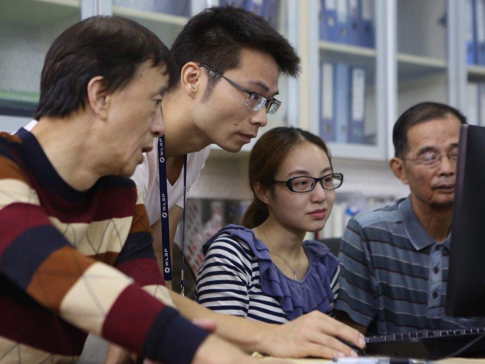 7. Team Up - Break into teams of 2-4 people to develop ideas in Minecraft.Block by Block Workshop team, Wuhan, ChinaCredit: Block by Block team