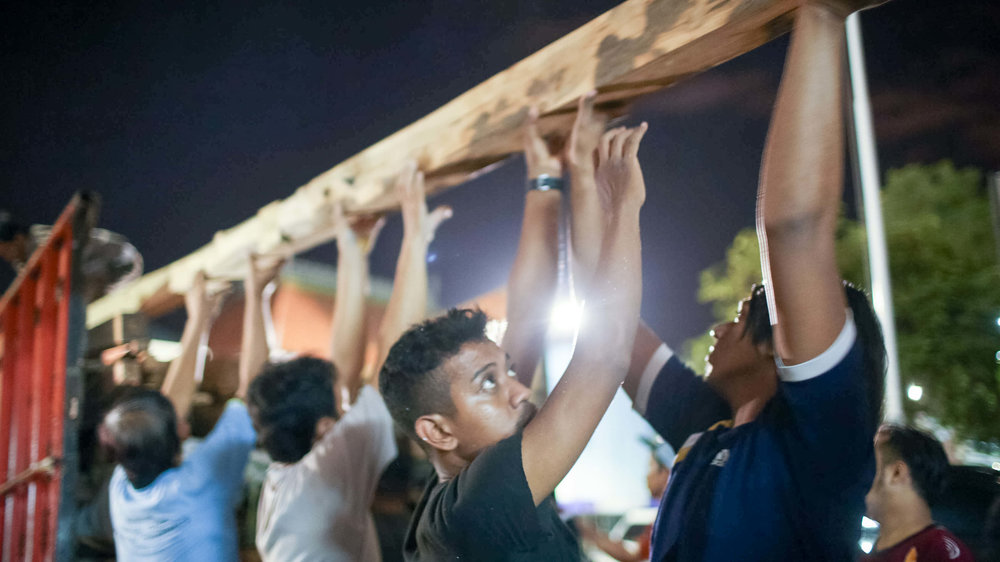 Community building party, Surabaya, Indonesia Credit: Block by Block team