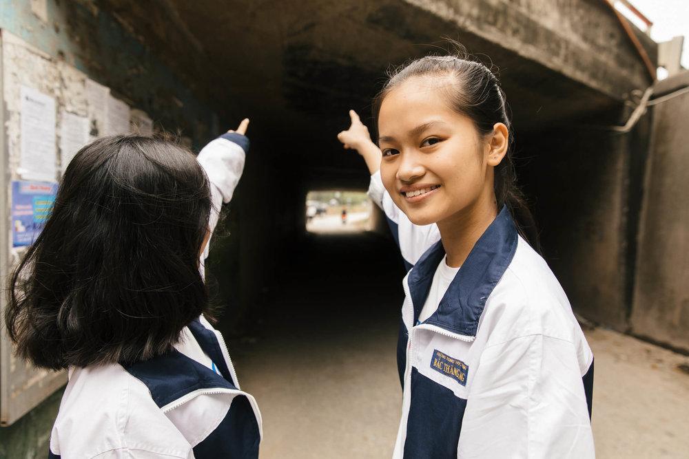 Tunnel in Kim Chung, Hanoi Credit: Kalta Studios/Love Strandell