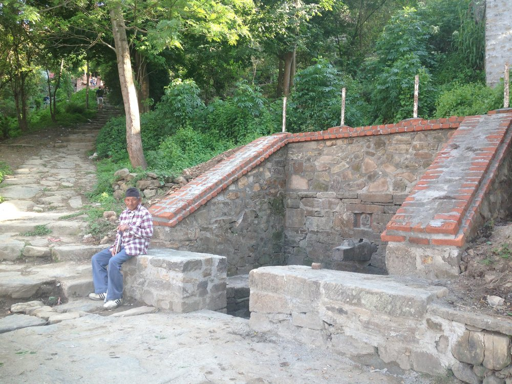 Completed community access to clean water, Kirtipur, Nepal Credit: CIUD