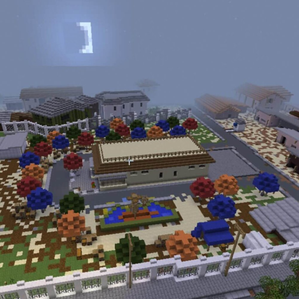 Minecraft Model of Community-Designed Public Space, Lokoja, Nigeria