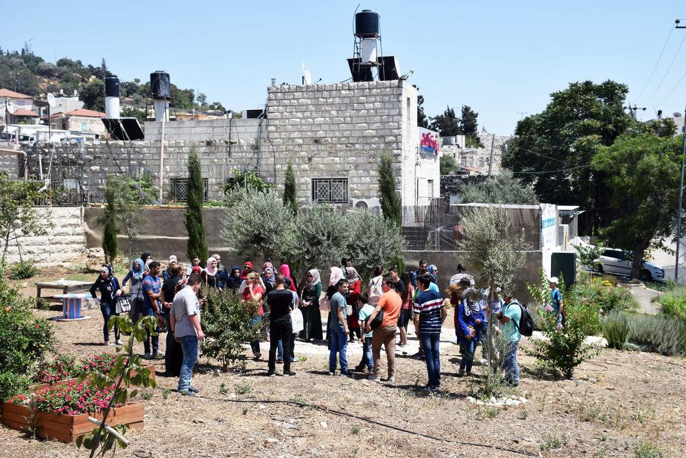 Site visit in East Jerusalem Credit: Pontus Westerberg/UN-Habitat