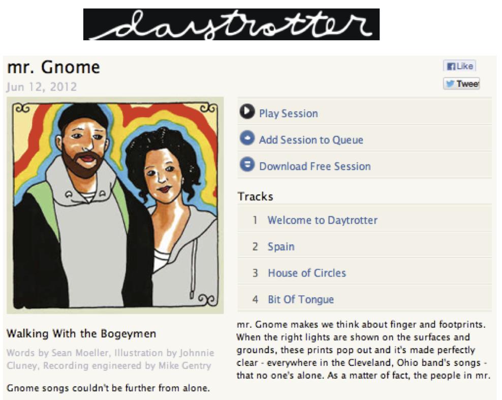 Daytrotter - Studio SessionJune 2012LISTEN HERE