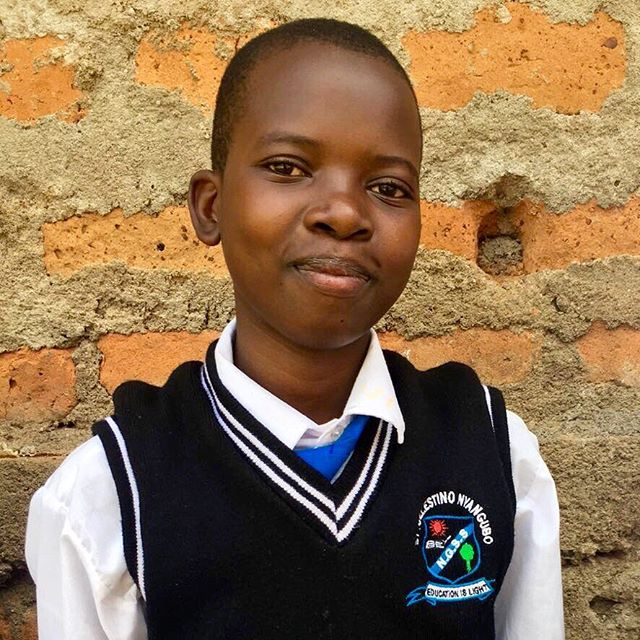 Phina prepares to go to a wonderful day school thanks to our sponsors. #EducationforEveryone