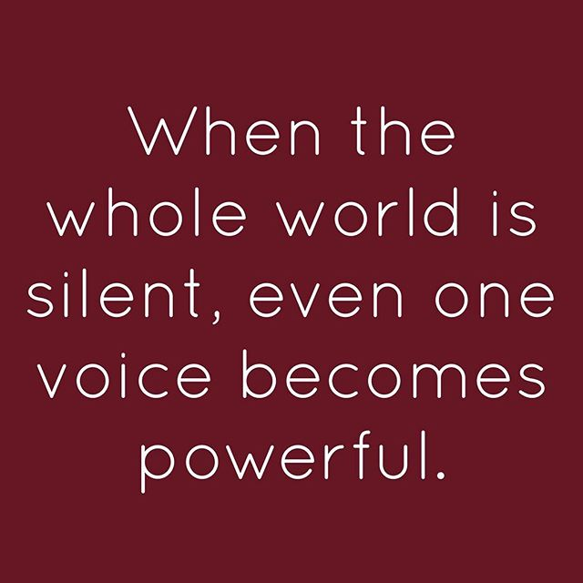 When the whole world is silent even one voice becomes powerful. - Malala Yousafzai #Inspirational #EducationforEveryone #MalalaYousafzai