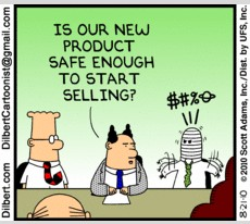 Dilbert on Product Safety