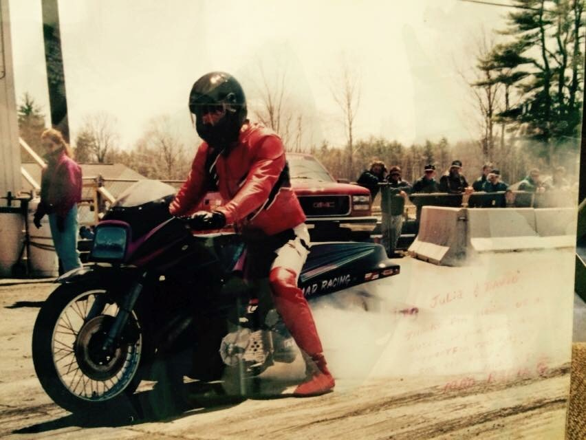 First Drag Bike, 1993
