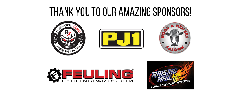 Thank you to all of our sponsors.
