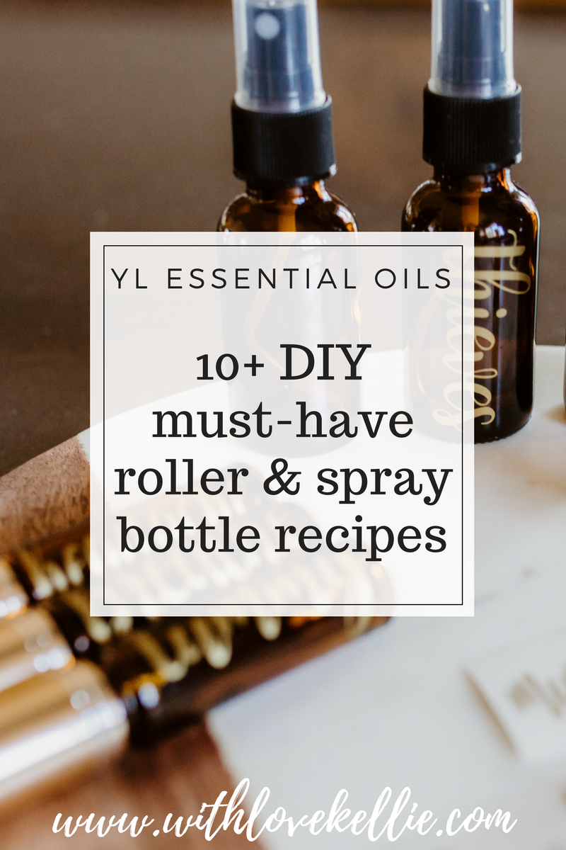 Essential Oils 10+ DIY Roller & Spray Bottle Recipes — With