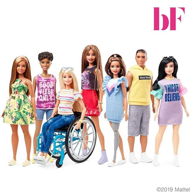 Instead of focusing on @realdonaldtrump this #presidentday 🇺🇸, we'd like to talk about someone who actually made some progress through the years💫. Love #Barbie or hate her, it's hard to ignore how much the politically themed doll has changed💯. She has more than 150 careers to her name, and has been running for the job of leader of the free world in almost every election year since 1992 (swipe👉). Last week, #Mattel introduced dolls with wheelchairs and prosthetic limbs, as part of the #Fashionista line which offers a variety of appearances (including braided hair texture and more realistic body types). The aim is to offer kids more diverse representations of beauty and to create toys with purpose. • • • • • • #education #videoproduction #befrank #honest #conversation #equality #production  #femalecrew #femalefounders #startup #socialimpact #gender #challenge #assumptions #motivation #instadaily #progress #assumptions #presidentsday #trump #diversity #mattel #barbie