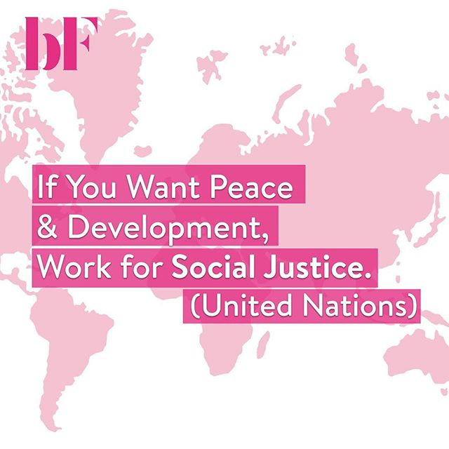 Yesterday was #WorldDayOfSocialJustice 🌎. The International Labour Organisation estimates that about 2 billion people live in fragile and conflict-affected situations (of whom more than 400 million are aged 15 to 29). We believe we should promote equal rights and opportunities every day of the year💫🙌🏽 Think of something (big or small) YOU can do for social groups or individuals who are affected by injustice ❤️🧡💚💜 • • • • • #education #videoproduction #befrank #honest #conversation #equality #production  #femalecrew #femalefounders #startup #socialimpact #socialjustice #gender #challenge #assumptions #motivation #instadaily #progress #assumptions  #diversity #world #peace