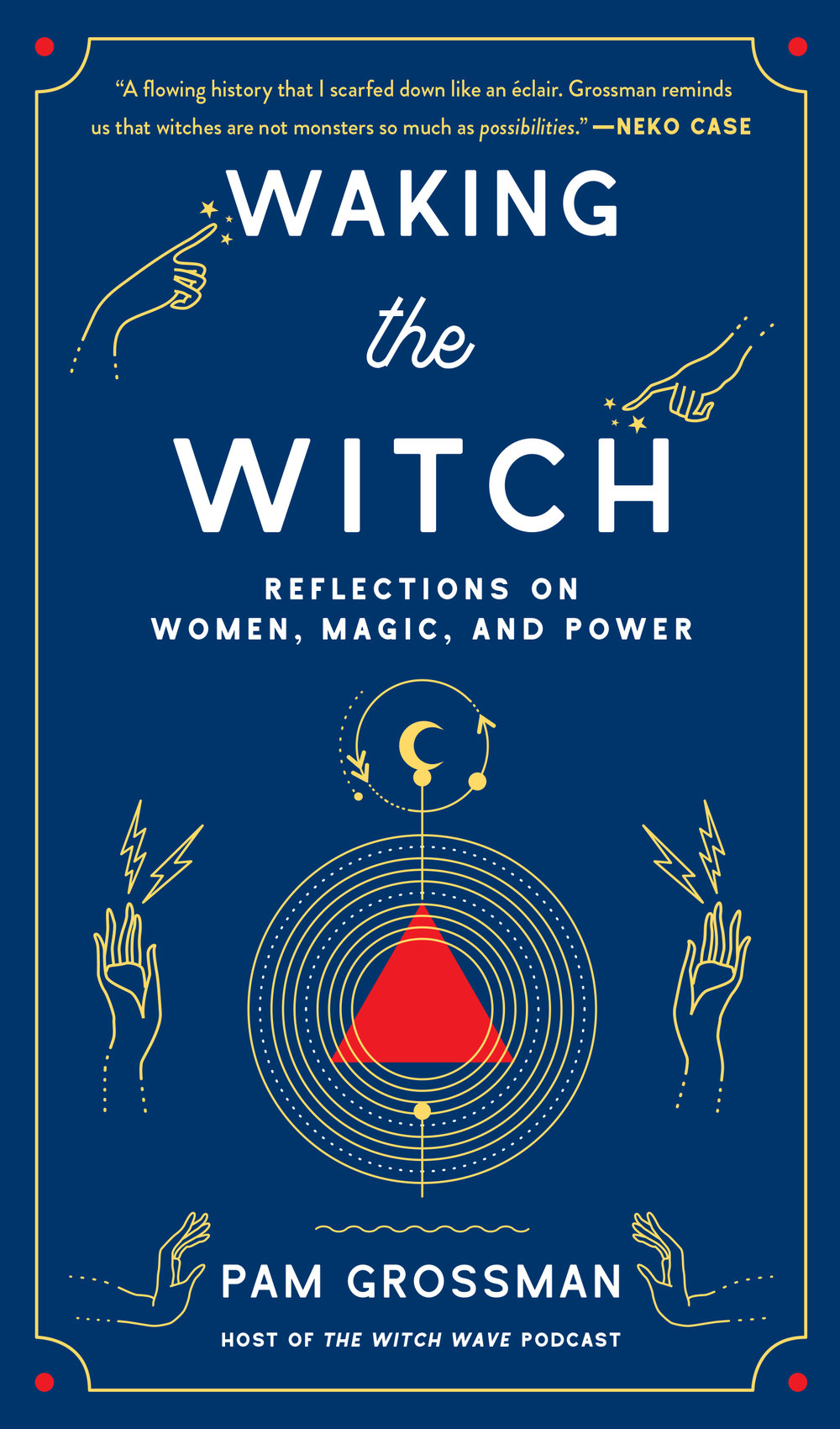WAKING THE WITCH: REFLECTIONS ON WOMEN, MAGIC, AND POWER - Gallery Books/Simon & SchusterComing June 4, 2019PRE-ORDER HEREA whip-smart and illuminating exploration of the world's fascination with witches from podcast host and practicing witch Pam Grossman (The Witch Wave), who delves deeply into why witches have intrigued us for centuries and why they're more relevant now than ever. When you think of a witch, what do you picture? Pointy black hat, maybe a broomstick. But witches in various guises have been with us for millennia. In Waking the Witch, Pam Grossman explores the cultural and historical impact of the world's most magical icon. From the idea of the femme fatale in league with the devil in early modern Europe and Salem, to the bewitching pop culture archetypes in Buffy the Vampire Slayer, Sabrina the Teenage Witch, and Harry Potter; from the spooky ladies in fairy tales and horror films to the rise of feminist covens and contemporary witchcraft, witches reflect the power and potential of women.In this fascinating read that is part cultural analysis, part memoir, Pam opens up about her own journey on the path to witchcraft, and how her personal embrace of the witch helped her find strength, self-empowerment, and a deeper purpose. A comprehensive meditation on one of the most mysterious and captivating figures of all time, Waking the Witch celebrates witches past, present, and future, and reveals the critical role they have played—and will continue to play—in shaping the world as we know it.