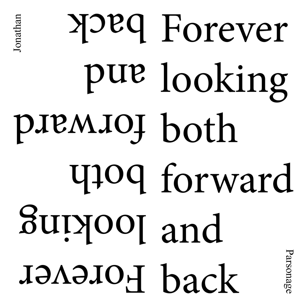 "We are pleased to announce the winner of the written works competition. - Congratulations to Jonathan R. Parsonage. ""Forever looking both forward and back"" is a collection of poems written between 2013 and 2017. We will now begin to collaborate on the design of a publication. Text © Jonathan R. Parsonage"