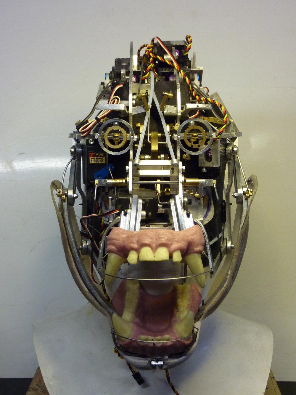 Millennium FX animatronic Gorilla head