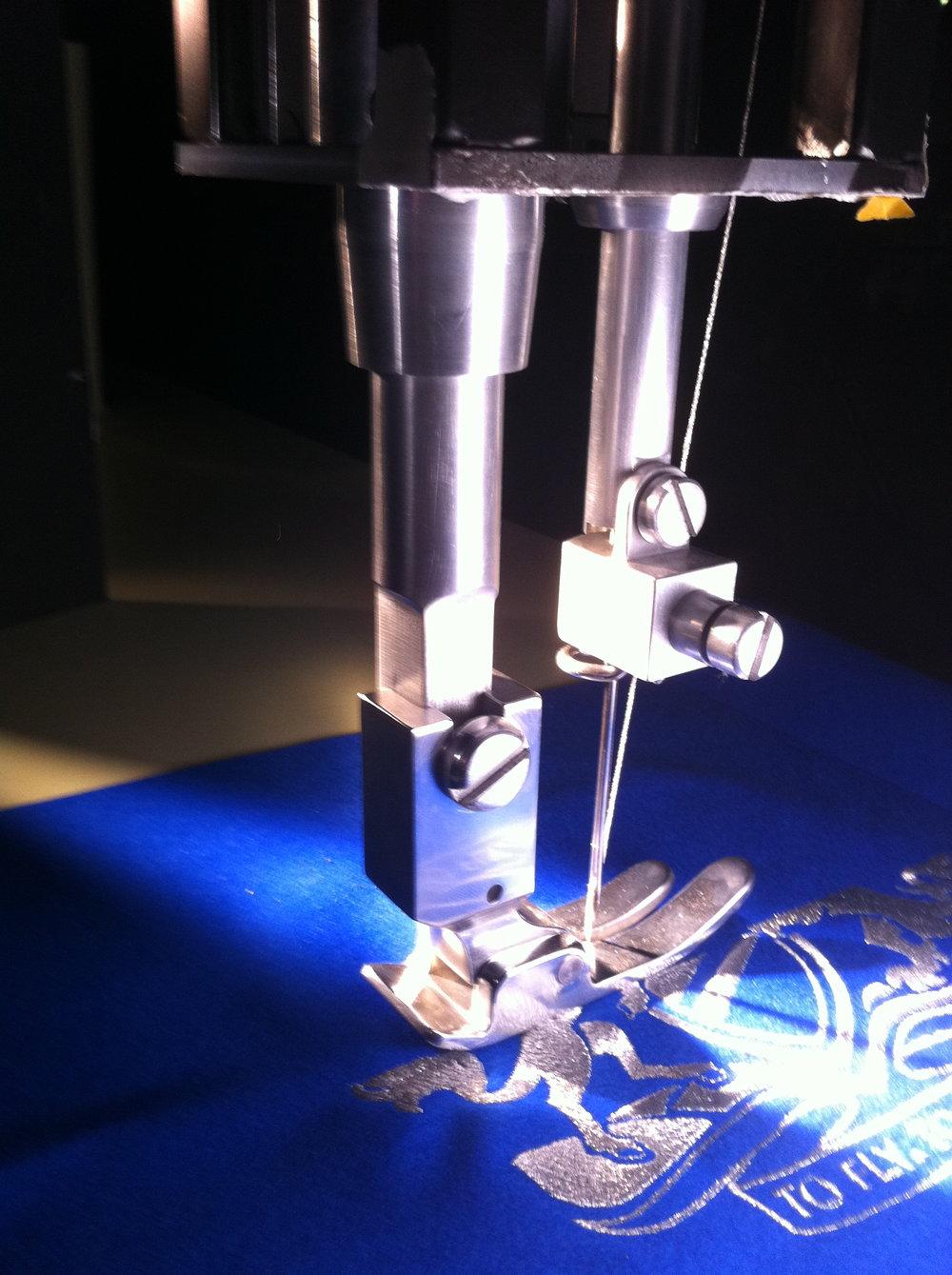 2:1 scale sewing machine for British airways advert.