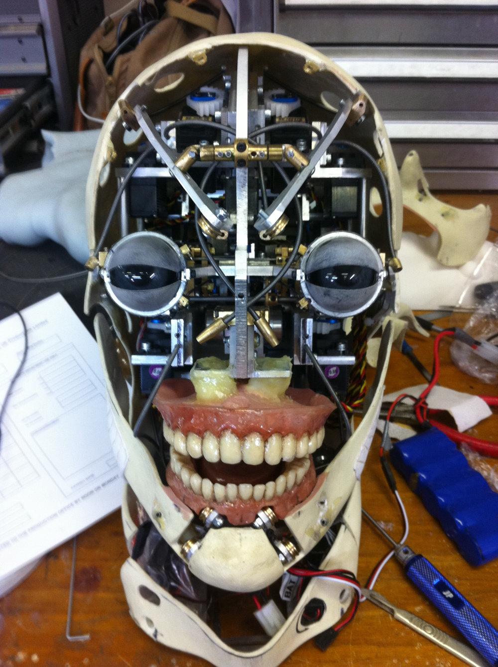 'Engineer head Animatronics' Prometheus
