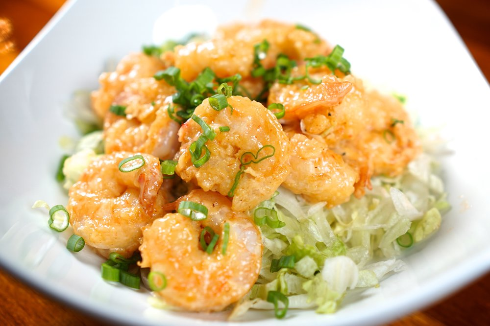 Dang Datil Shrimp - 1/2 pound locally sourced with creamy Datil Sauce