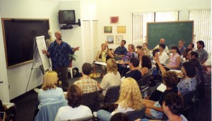 2004 – Dr. Johnson Lecturing at the Academy for Five Element Acupuncture, (T.C.M. College of Hallandale, Florida)