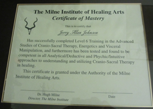 Graduate Certificate In Shamanistic Cranio-Sacral Therapy