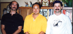 Shifu Jerry Alan Johnson, Shifu Bing Kai Lee, and Shifu Joseph Crandall, (Pacific Grove, California)