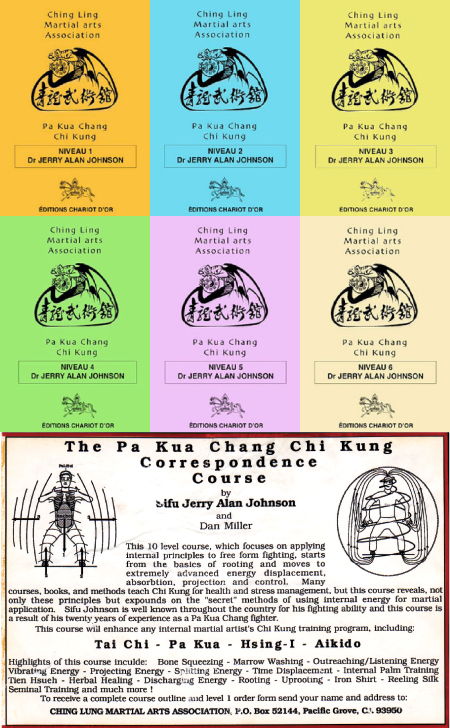 "1988 – Published a Six Level Martial Qigong Training Course, called: ""The Pa Kua Chang Chi Kung Correspondence Course"""