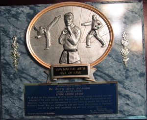 2004 – Nominated into the Martial Arts Hall of Fame