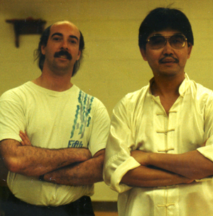 Sifu Johnson and Sifu Johnny Lee