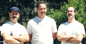 Shifu Joseph Crandall, Shifu Mike Sigman and Shifu Jerry Alan Johnson (Pacific Grove, California)