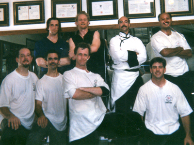 Sifu Jerry Alan Johnsons - Chen Taiji Fighters-1997