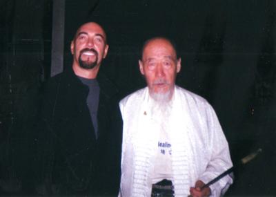 Dr. Jerry Alan Johnson and Baguazhang Master Duan Zhi Liang (Beijing, China)