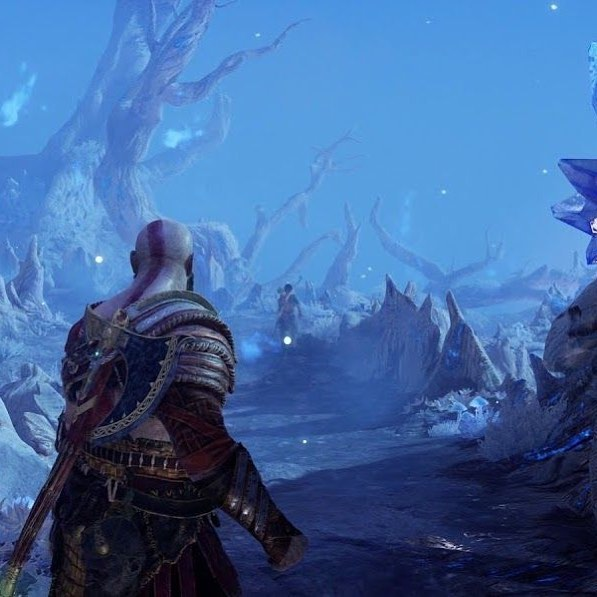 Does this image look familiar? #GodofWar tries to do a lot of interesting things with video game cinematography, but how well does it succeed? Steven delves into this a bit with his piece, and you can find the link below!⠀ https://www.verticalslicemedia.com/post/2018/5/30/what-does-god-of-wars-one-take-achieve