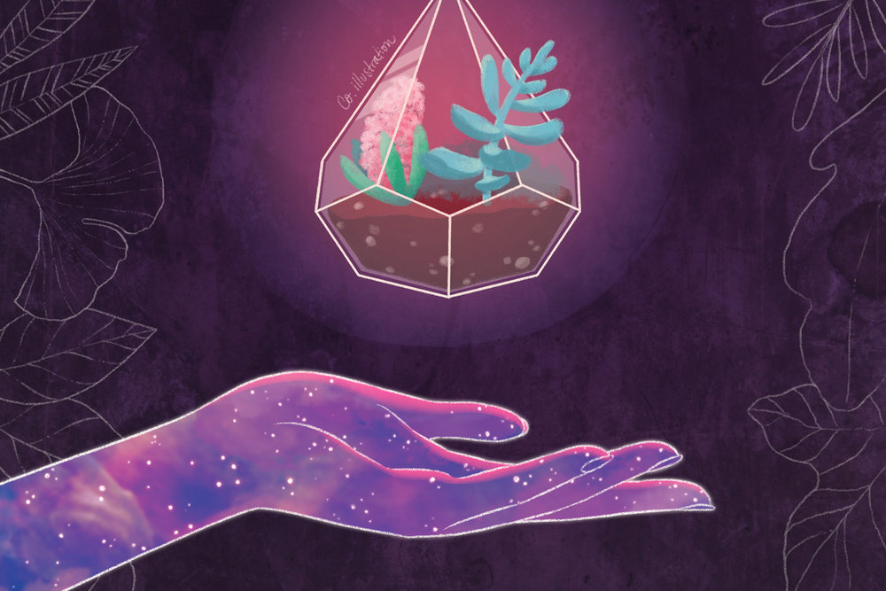 COSMIC TERRARIUM - ILLUSTRATION _