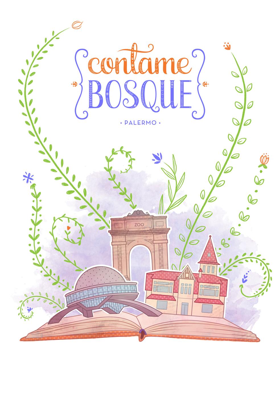 CONTAME BOSQUE - BRANDING _
