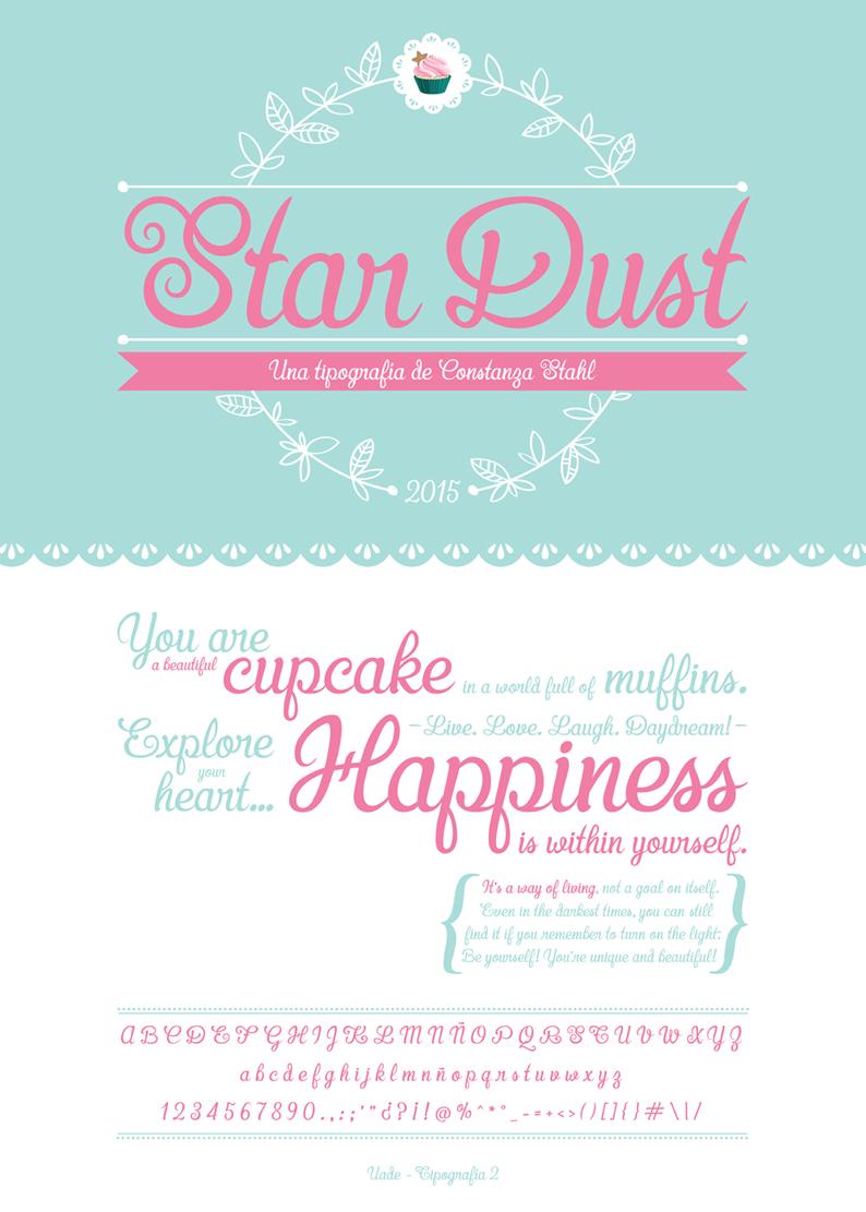 STAR DUST - TYPEFONT _