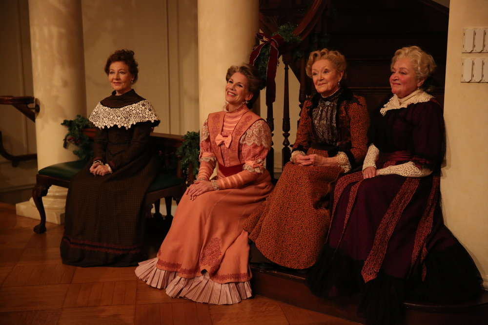 Terry Donnelly, Melissa Gilbert, Patricia Kilgarriff, and Patti Perkins in Irish Rep's THE DEAD, 1904.Photo by Carol Rosegg.JPG