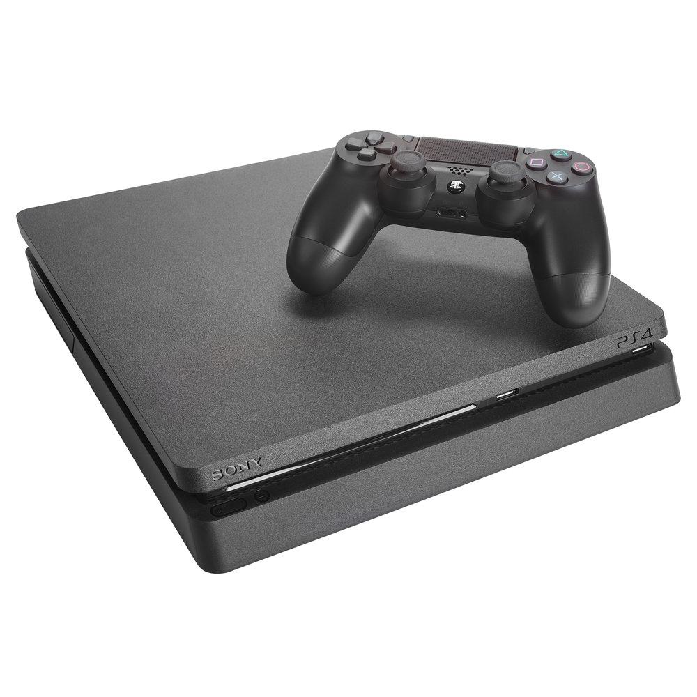 Play Station 4  - HD intégrale 1080p - Connectivités Ethernet et Wi-Fi - Stockage interne de 1 TB