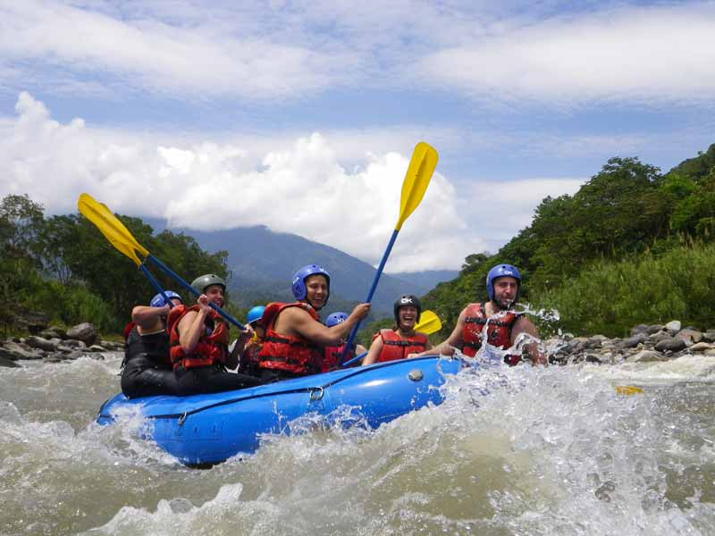 ADVENTURE - 25 adventure activities: 11 hikes, rafting, canyoning, biking, horse backriding, travelling throughout the countryside, Amazon rainforest and birdwatching programs
