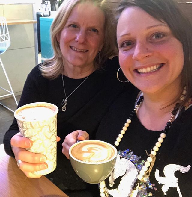 Latte Love with my beautiful Unicorn daughter Lisa to celebrate Unicorn day.