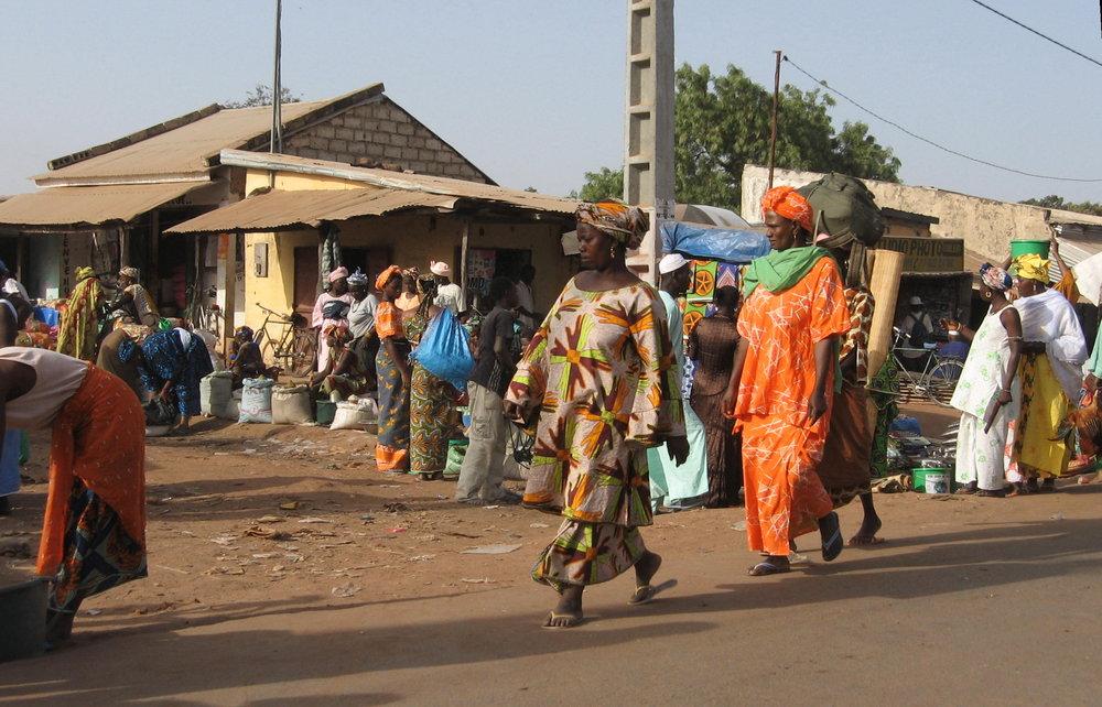 Femmes à Diaoube Sénégal